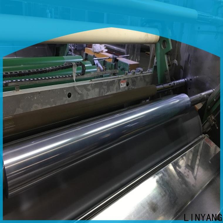 LINYANG hot sale clear plastic film factory