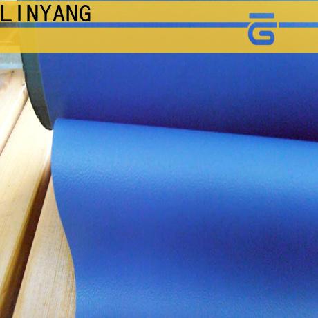LINYANG rich self adhesive film for furniture design for handbags