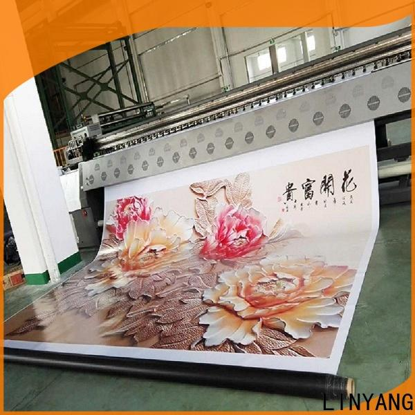 LINYANG flex banner factory for outdoor