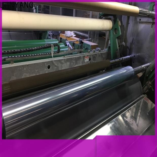 LINYANG clear plastic film supplier