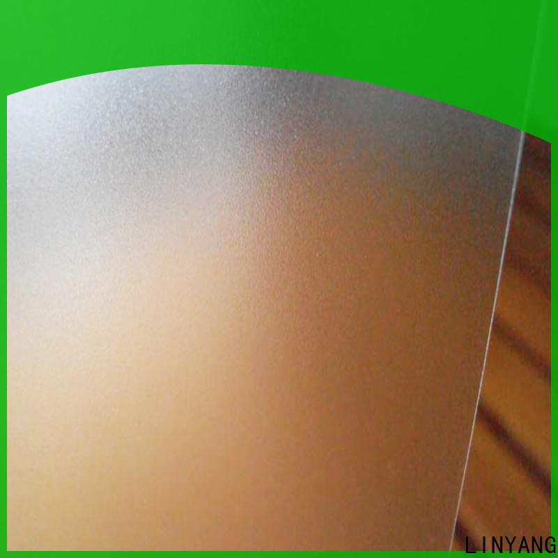 LINYANG waterproof Translucent PVC Film personalized for raincoat