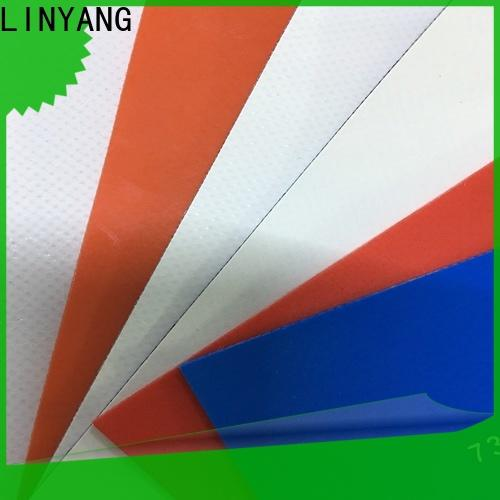 LINYANG pvc pvc tarpaulin supplier for geotextile