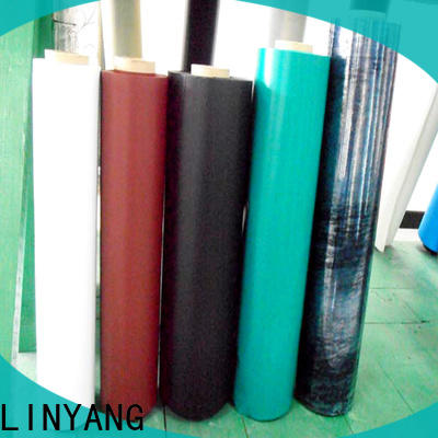 LINYANG waterproof inflatable pvc film wholesale for inflatable boat
