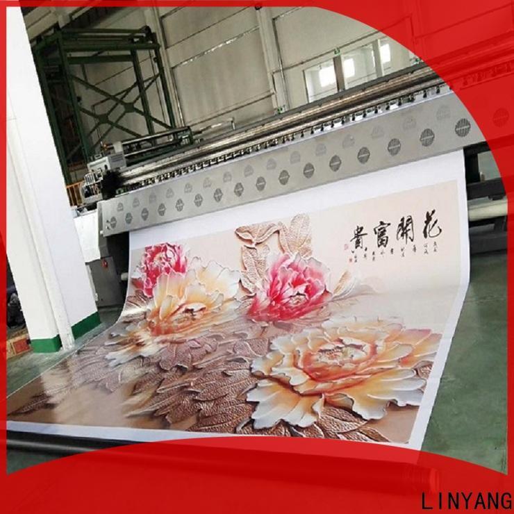 LINYANG flex banner design supplier for advertise