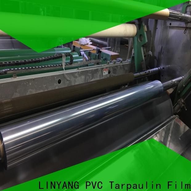 LINYANG clear plastic film factory