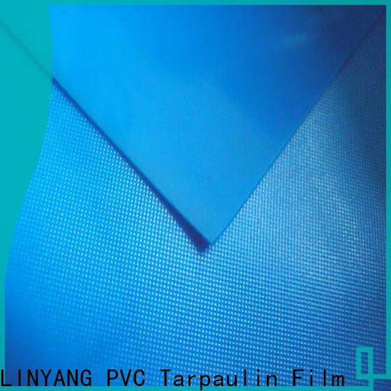 LINYANG rich pvc plastic sheet roll design for umbrella