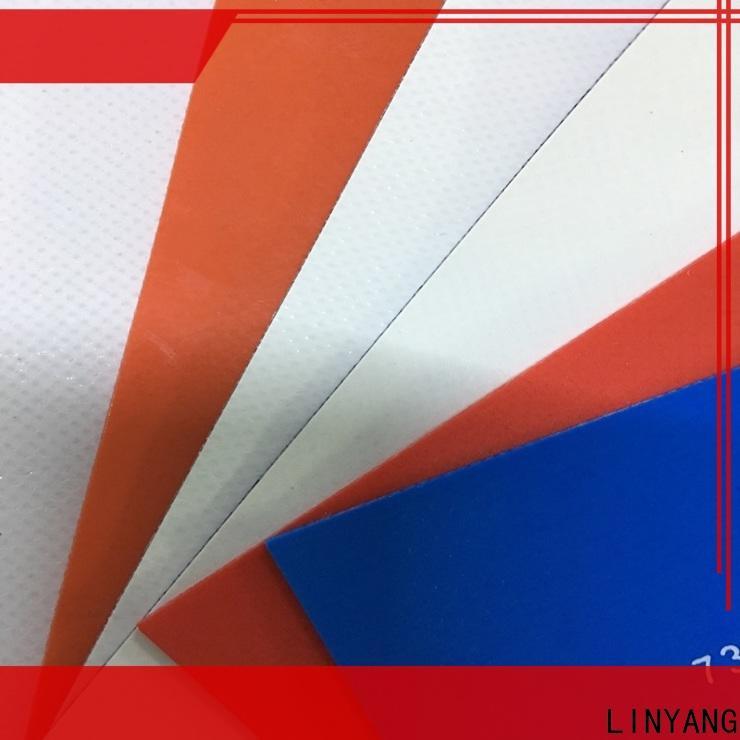 flame-retardant pvc tarpaulin antistripping supplier for geotextile