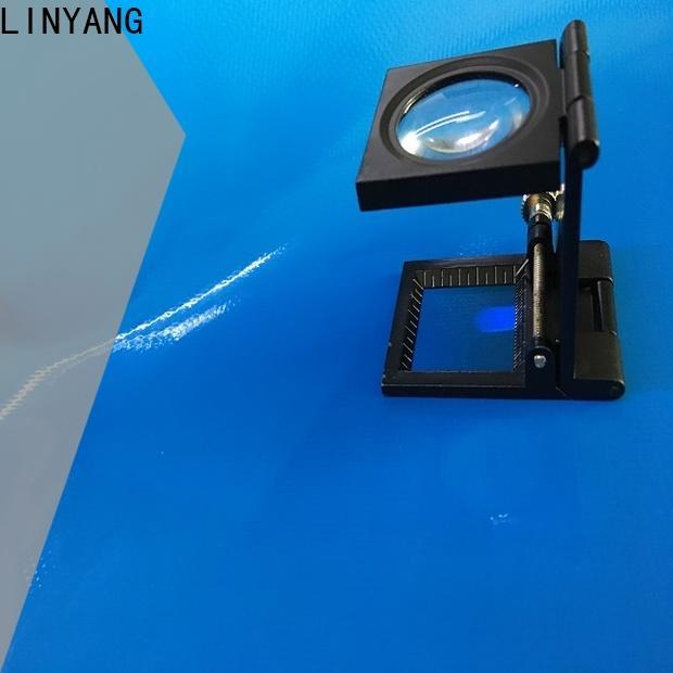 LINYANG new swimming pool tarpaulin factory
