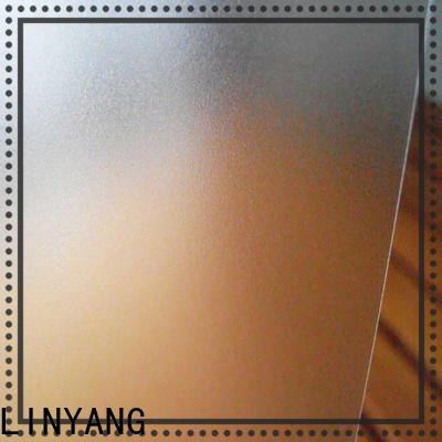 LINYANG widely used Translucent PVC Film directly sale for plastic tablecloth
