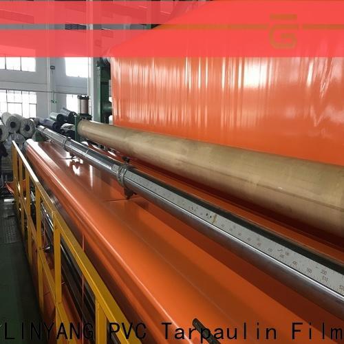 LINYANG pvc coated tarpaulin brand
