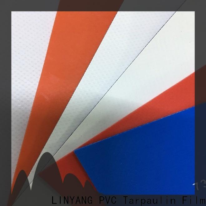 LINYANG resistant tarpaulin film design for geotextile