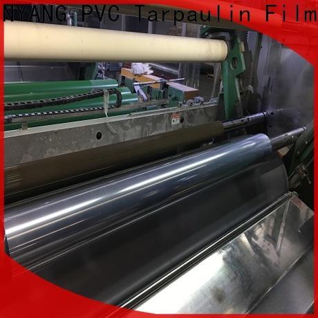 hot sale clear pvc film factory
