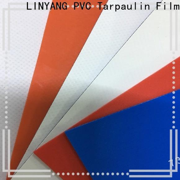 LINYANG pvc coated fabric manufacturer for truck cover