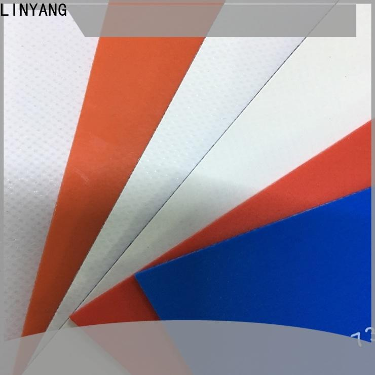 LINYANG the newest pvc tarpaulin supplier for sale