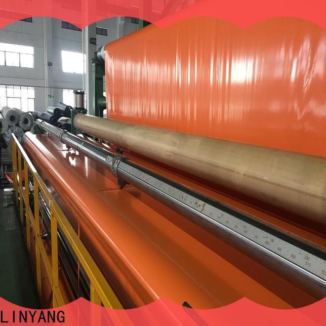 LINYANG pvc coated tarpaulin provider