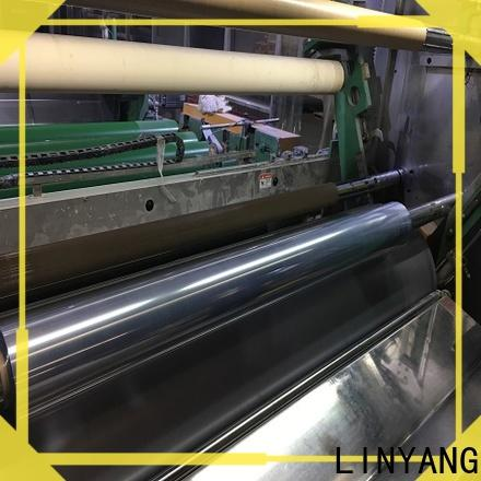 LINYANG high quality clear pvc film factory