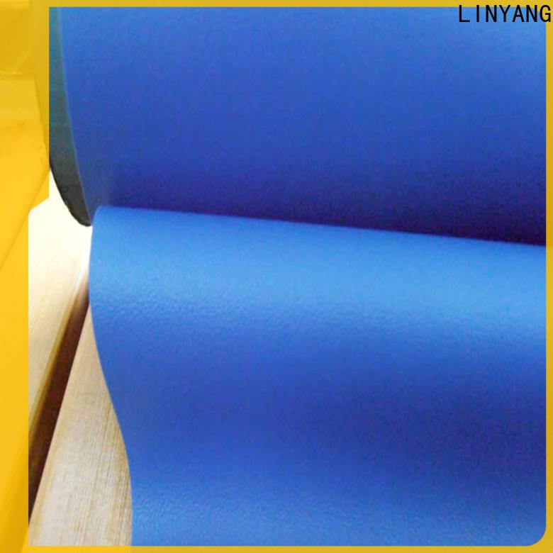 LINYANG pvc Decorative PVC Filmfurniture film factory price for handbags