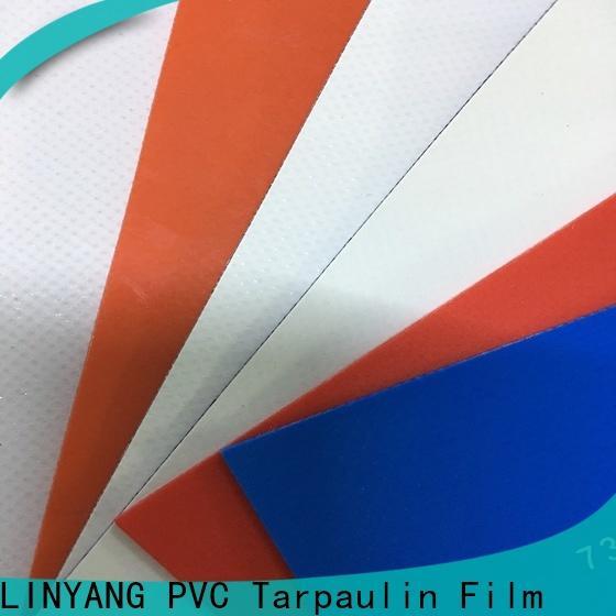 heavy duty PVC Tarpaulin fabric supplier for outdoor
