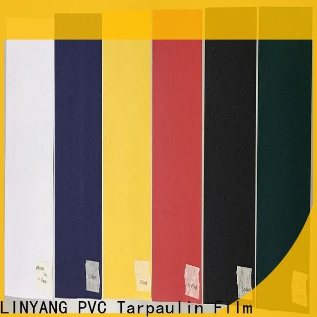 LINYANG waterproof pvc film from China for handbags
