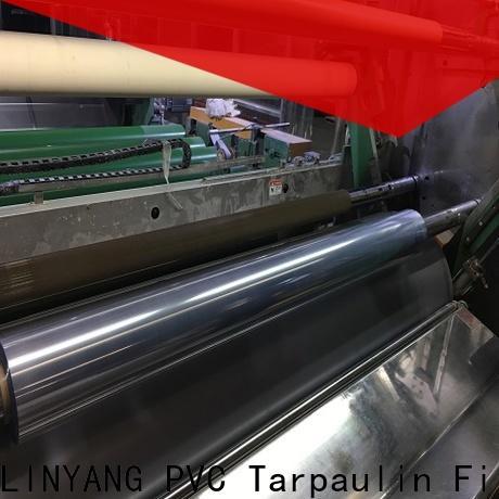 LINYANG best clear pvc film manufacturer
