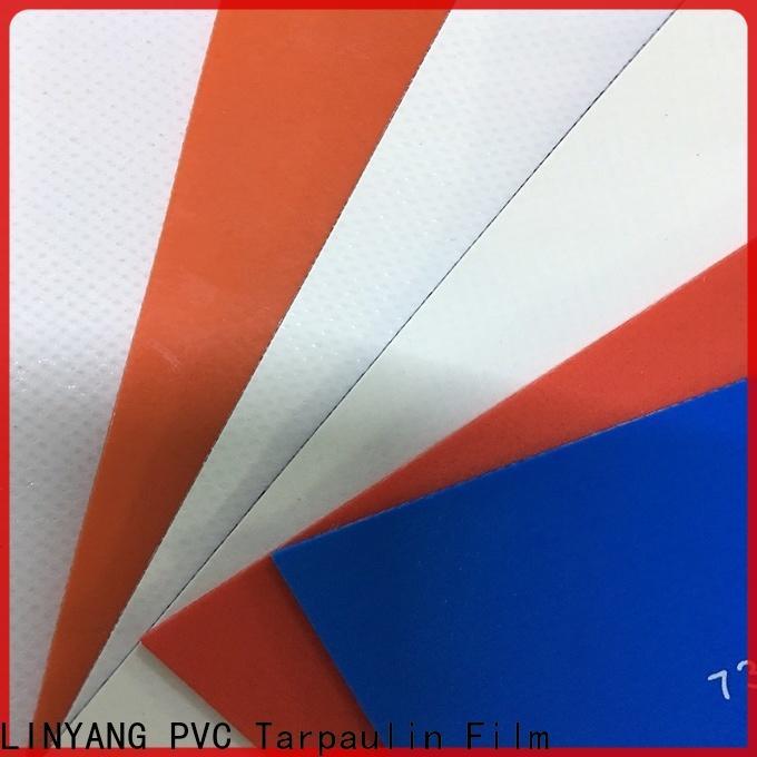 LINYANG weatherability waterproof tarpaulin factory price for advertising banner