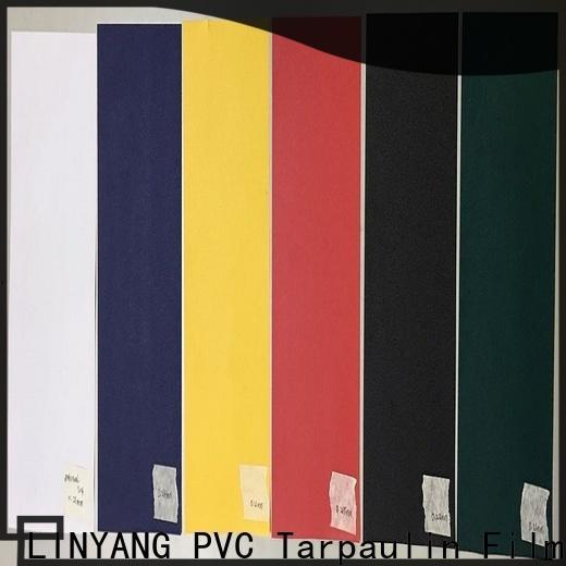 LINYANG hot selling pvc film manufacturer for handbags