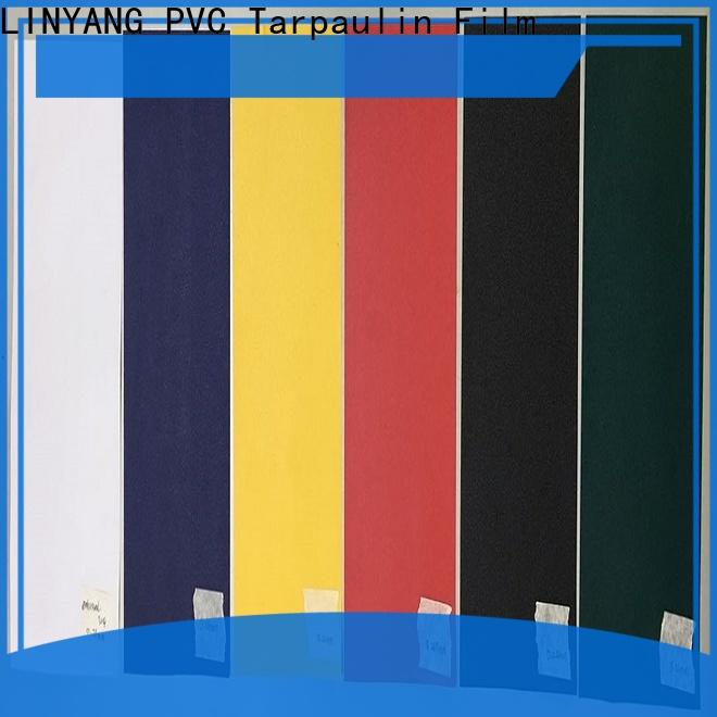LINYANG waterproof pvc film directly sale for umbrella