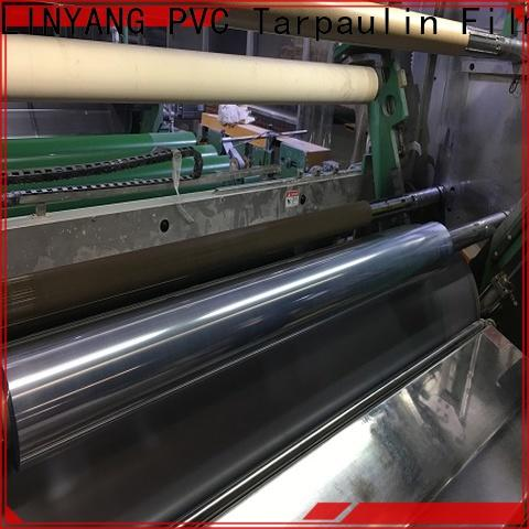 LINYANG clear pvc film wholesale