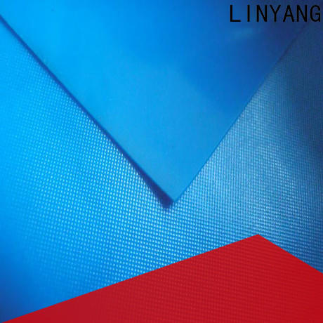 LINYANG normal pvc film roll design for raincoat
