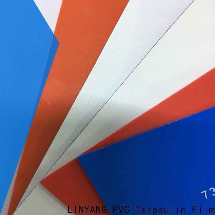 LINYANG best pvc tarpaulin design for tent tarps