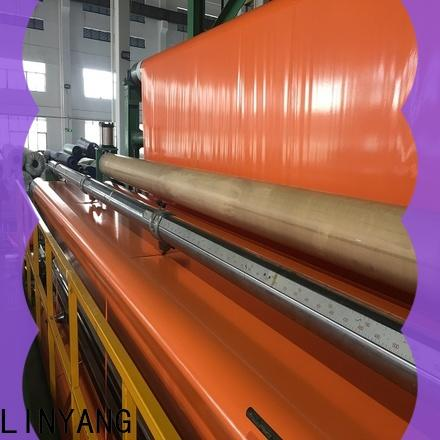 LINYANG high quality pvc coated tarpaulin brand