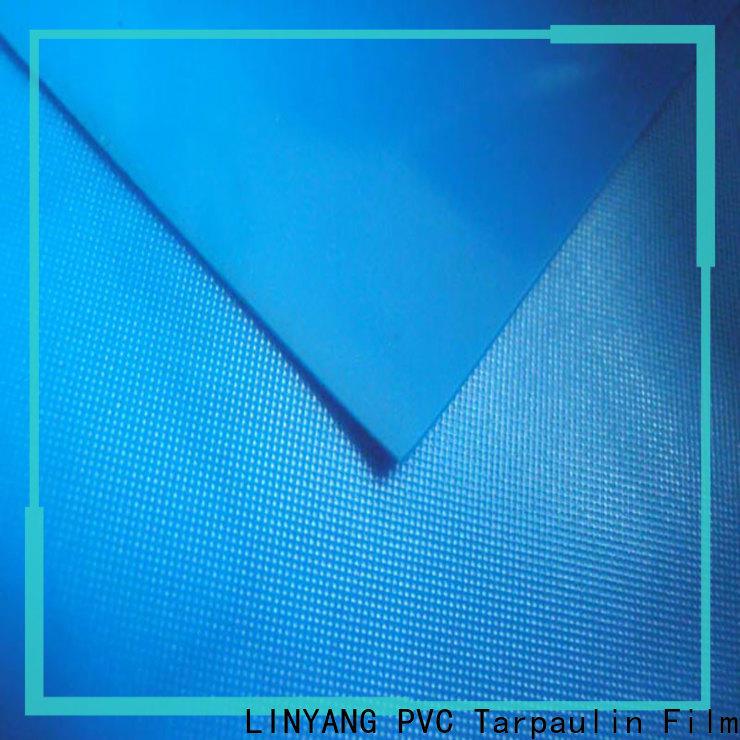 LINYANG rich pvc film roll design for raincoat