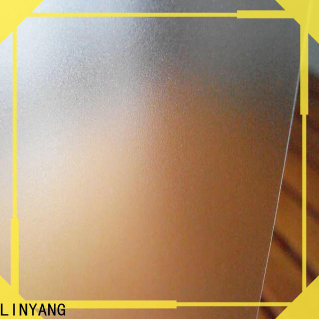 LINYANG antifouling Translucent PVC Film manufacturer for raincoat