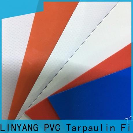 the newest PVC Tarpaulin fabric factory for truck cover