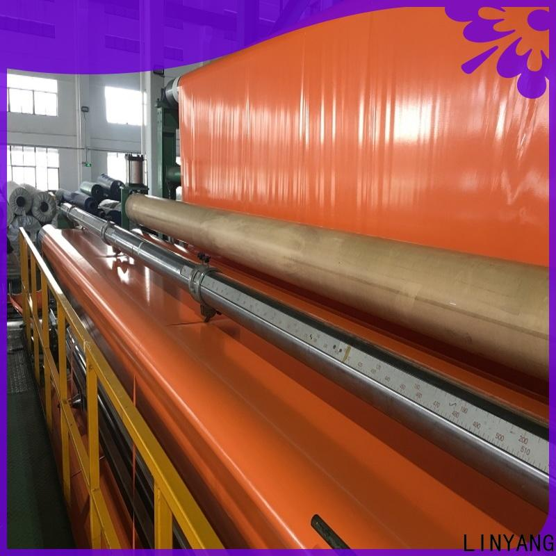 LINYANG high quality pvc coated tarpaulin wholesale