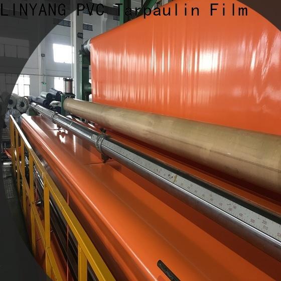 LINYANG cheap pvc coated tarpaulin factory
