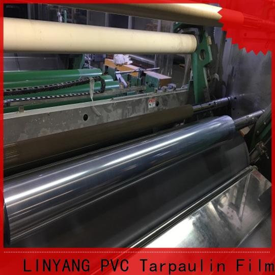 LINYANG custom clear plastic film from China
