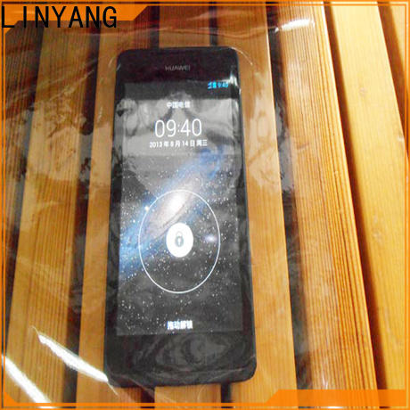 LINYANG transparent Transparent PVC Film customized for industry