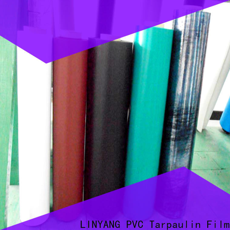LINYANG film Inflatable Toys PVC Film customized for inflatable boat