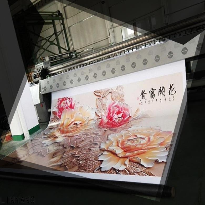 LINYANG custom flex banner design manufacturer for importer