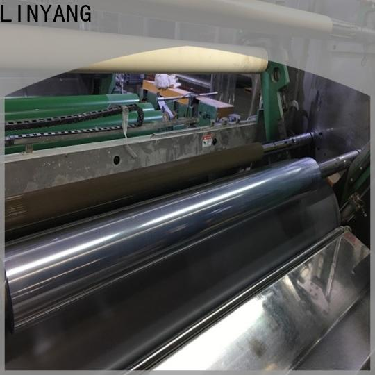 LINYANG high quality clear plastic film factory