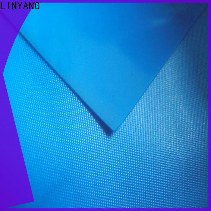 LINYANG variety pvc film roll design for raincoat