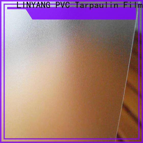 LINYANG film Translucent PVC Film personalized for umbrella