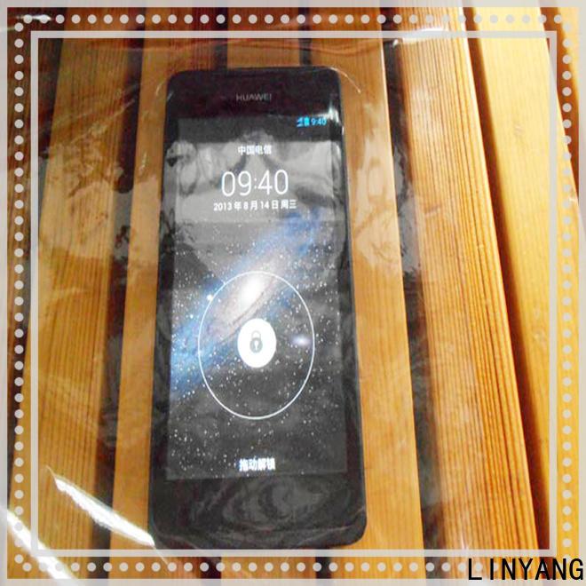 LINYANG waterproof clear pvc film customized for handbags membrane