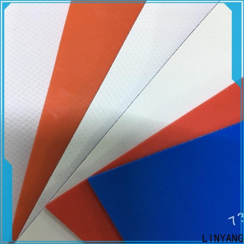 LINYANG tensile tarpaulin film supplier for advertising banner