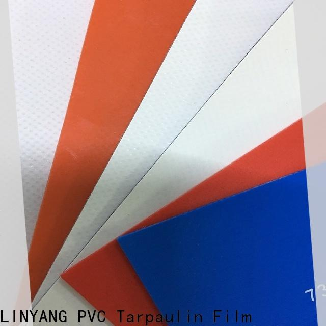LINYANG high quality pvc coated fabric factory for truck cover