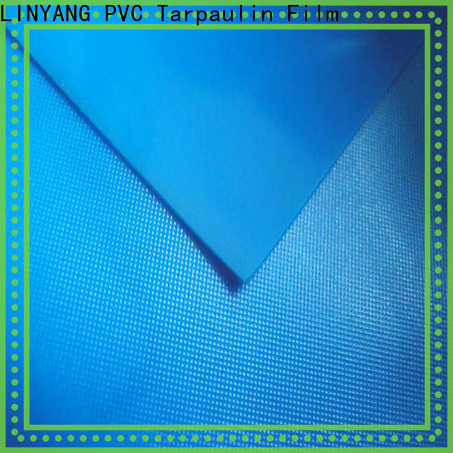 LINYANG rich pvc film roll series for raincoat
