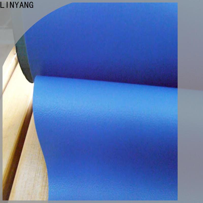 semi-rigid Decorative PVC Filmfurniture film waterproof factory price for indoor