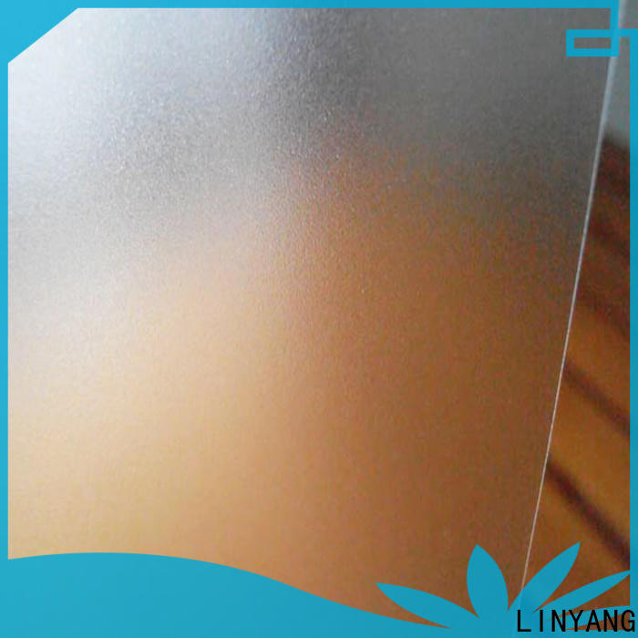 LINYANG translucent Translucent PVC Film manufacturer for umbrella