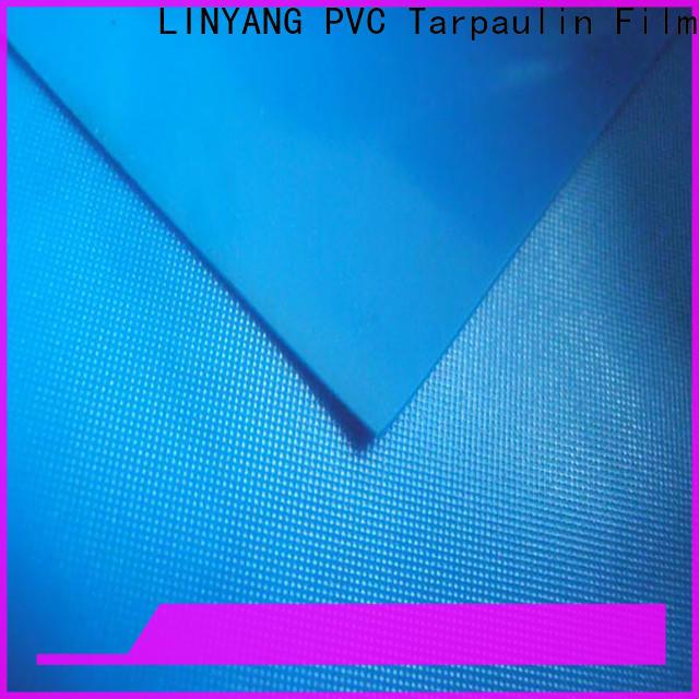 LINYANG rich pvc plastic sheet roll series for umbrella